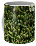 Bunches Of Asparagus On Display At The Farmers Market Coffee Mug