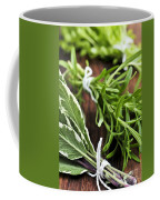 Bunches Of Fresh Herbs Coffee Mug