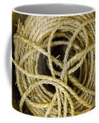 Bundle Of Old Straw Rope Coffee Mug
