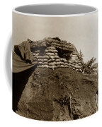 Bunker Above The Dak Poko River Near Dak To Kontum Province Vietnam 1968 Coffee Mug