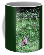 Bunny Rabbit Digital Paint Coffee Mug