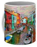 Burano Art Deco Coffee Mug