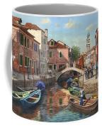 Burano Canal Venice Coffee Mug