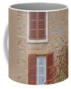 Rust Coloured Shutters Coffee Mug