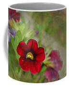 Burgundy Calibrochoa Blank Greeting Card Coffee Mug