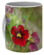 Burgundy Calibrochoa Blank Greeting Card II Coffee Mug