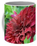 Burgundy Dahlia Coffee Mug