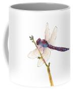 Burgundy Dragonfly Coffee Mug