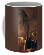 Burial Of St Lucy Coffee Mug by Caravaggio