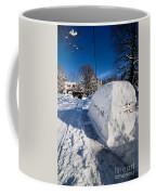 Buried In Snow Coffee Mug