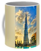Burj Khalifa Coffee Mug by Syed Aqueel