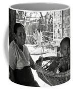 Burmese Grandmother And Grandchild Coffee Mug