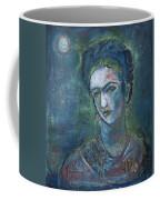 Burn It Blue Frida Coffee Mug