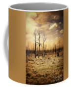 Burned Out Forest Coffee Mug