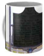 Burney Institute Historical Sign Coffee Mug
