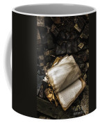 Burning Books Coffee Mug