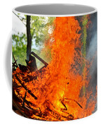 Burning Brush Coffee Mug