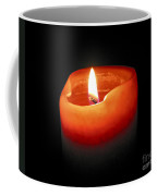 Burning Candle Coffee Mug by Elena Elisseeva