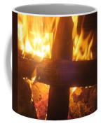 Burning Cross Coffee Mug