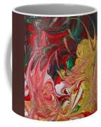Burning Into The Darkness Coffee Mug