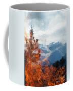 Burning The Winter Blues Away Coffee Mug