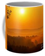 Burning Through Coffee Mug