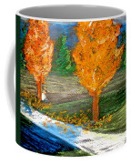 Burning Trees Coffee Mug
