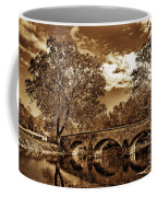 Burnside Bridge At Antietam - Toned Coffee Mug