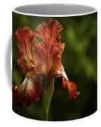 Burnt Orange Iris Coffee Mug
