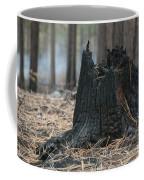 Burnt Tree Trunk Coffee Mug