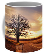 Burr Oak Silhouette Coffee Mug