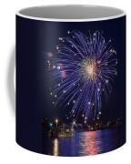 Burst Of Blue Coffee Mug