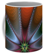 Bursting Star Nova Fractal Coffee Mug