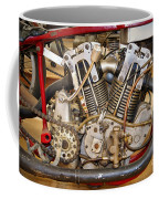 Burt Munro Special Indian Scout Engine Coffee Mug