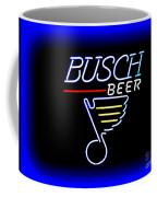 Busch And The Blues Edited Coffee Mug