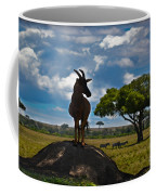 Bushbuck Guard Of The Mound   Coffee Mug