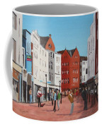 Busking On Grafton Street Coffee Mug