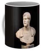 Bust Of Emperor Hadrian Coffee Mug by Anonymous