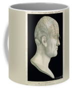 Bust Of Johan Spurzsheim Coffee Mug