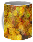 Busy Bee In The Marigolds Coffee Mug