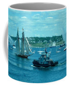 Busy Halifax Harbor During The Parade Of Sails Coffee Mug
