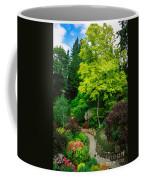 Butchart Gardens Pathway Coffee Mug