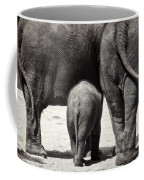 Butt Butt Butt Coffee Mug by Joan Carroll