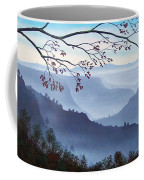 Butte Creek Canyon Mural Coffee Mug