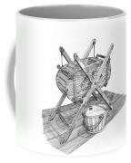 Butter Churn Circa 1822 Coffee Mug