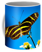 Butterflies And Blue Skies Coffee Mug