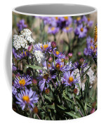 Butterflies And Wildflowers Coffee Mug