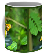 Butterflies Gentle Courtship 4 Panel Composite Coffee Mug