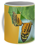 Butterflies Mating Out Of Bounds Coffee Mug