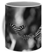 Butterflies On A Wire Coffee Mug